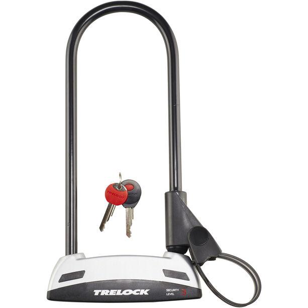 Trelock BS 301 Bügelschloss 300 mm schwarz