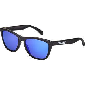 Oakley Frogskins Sunglasses matte black/violet iridium matte black/violet iridium