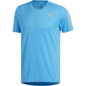 adidas Own The Run T-Shirt Herren shock cyan/reflective silver shock cyan/reflective silver