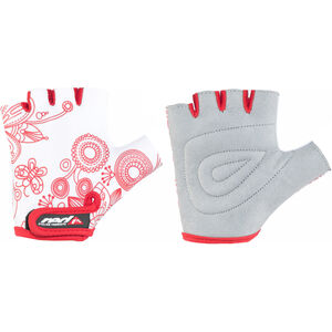 Red Cycling Products Race Bike Gloves Kids white-red