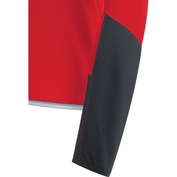 GORE WEAR C5 Windstopper Long Sleeve Jersey Men red