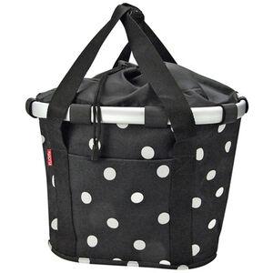 KlickFix Reisenthel Bikebasket black dots black dots