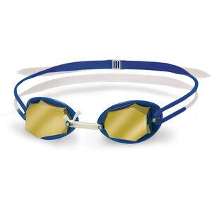 Head Diamond Mirrored Goggles white-blue-blue white-blue-blue