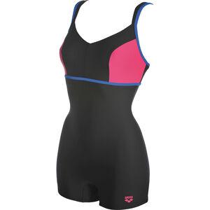 arena Venus Combi Swimsuit Women black-pix blue-fresia rose bei fahrrad.de Online
