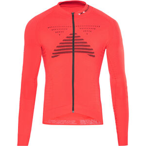 X-Bionic Effektor Power Fahrrad Trikot LS Full-Zip Herren flash red/black flash red/black