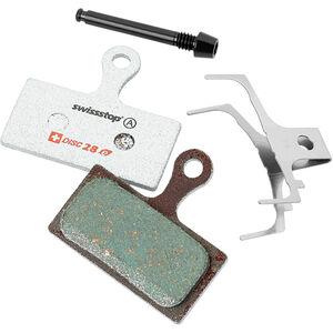 SwissStop Disc 28e Bremsbeläge für Shimano/FSA/Rever E-Bike grün grün