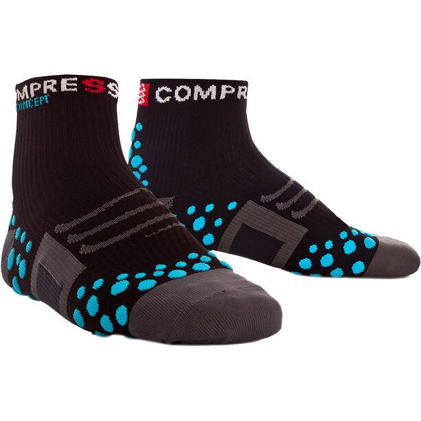 Compressport ProRacing Run High Socks black/blue