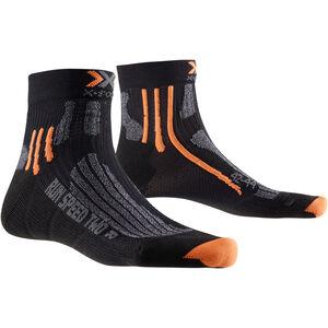 X-Socks Run Speed Two Socks Men Black/Grey Moulinè