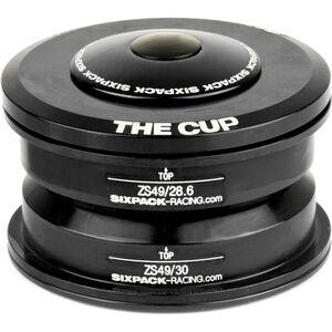 Sixpack The Cup Steuersatz ZS49/28.6 I ZS49/30 schwarz
