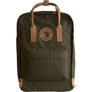 """Fjällräven Kånken No.2 Laptop 15"""" Backpack dark olive"""