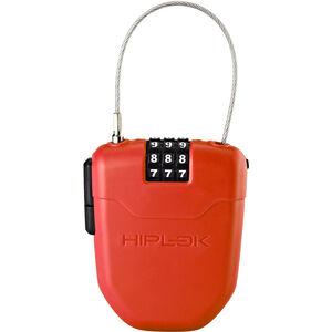 Hiplok FX Seilschloss mit Reflektor rot rot