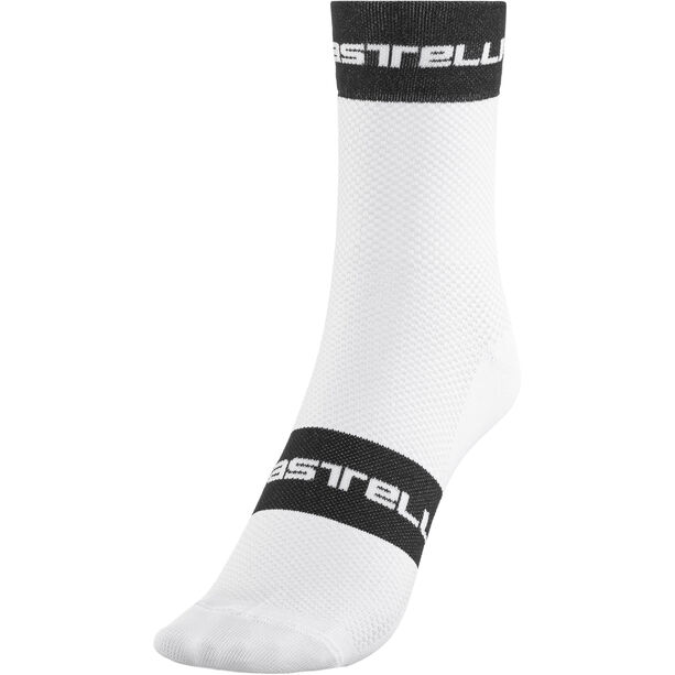 Castelli Free 9 Socks white/black/red white/black/red