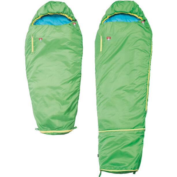 Grüezi-Bag Grow Colorful Sleeping Bag Kinder gecko green
