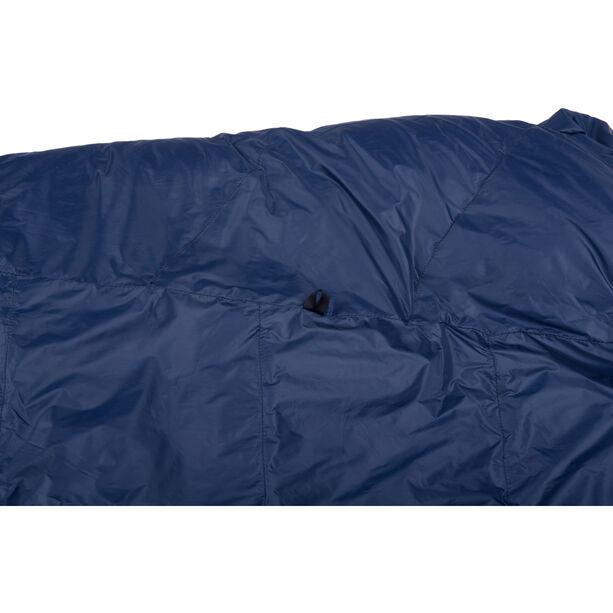 Grüezi-Bag Biopod DownWool Ice 185 Sleeping Bag night blue