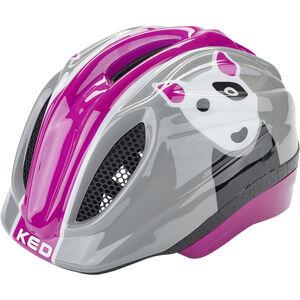 KED Meggy Trend Helmet Kids dog violet