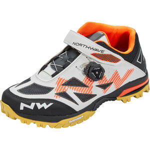 Northwave Enduro Mid Schuhe Herren off white/orange off white/orange