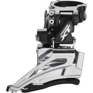 Shimano Deore XT FD-M8025 Umwerfer 2x11-fach Schelle Dual Pull schwarz/silber bei fahrrad.de Online
