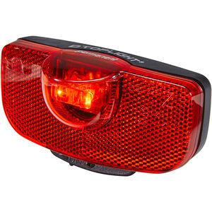 Busch + Müller D-Toplight permanent Batterie-Rücklicht schwarz/rot schwarz/rot