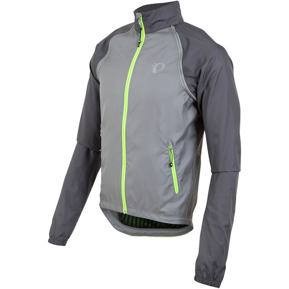 PEARL iZUMi Elite Barrier Convertible Jacket Men Smoked Pearl