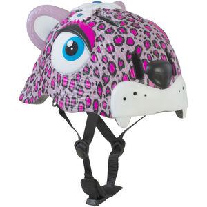 Crazy Safety Leopard Helm Mädchen pink pink