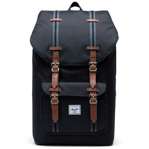 Herschel Little America Backpack black/black/tan black/black/tan