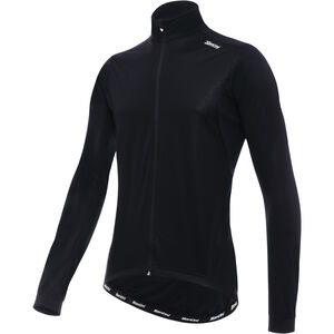 Santini Flight Wind Jacket Herren black black