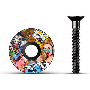 rie:sel design stem:cap stickerbomb stickerbomb