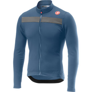 Castelli Puro 3 Full-Zip Jersey Herren light steel blue light steel blue