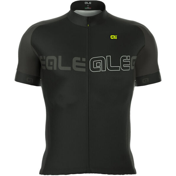 Alé Cycling Excel Basic SS Jersey Men black-charcoal grey