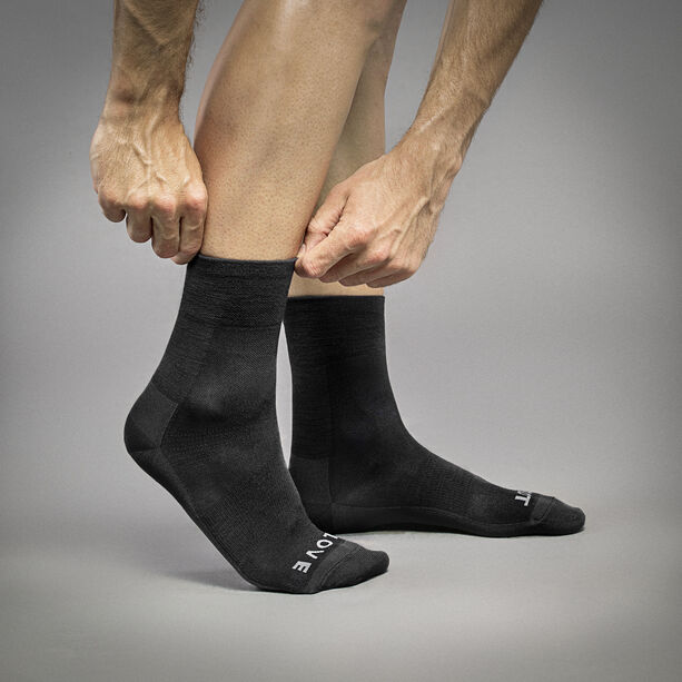 GripGrab Merino Lightweight SL Socks black