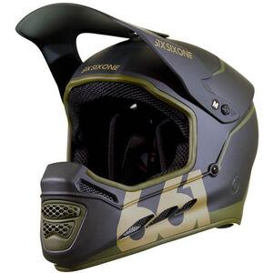 SixSixOne Reset MIPS Fullface Helm deep forest green