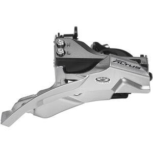 Shimano Altus FD-M370 Umwerfer 3x9-fach Schelle Dual-Pull schwarz schwarz