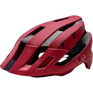 Fox Flux Helmet Mips Herren dark red dark red