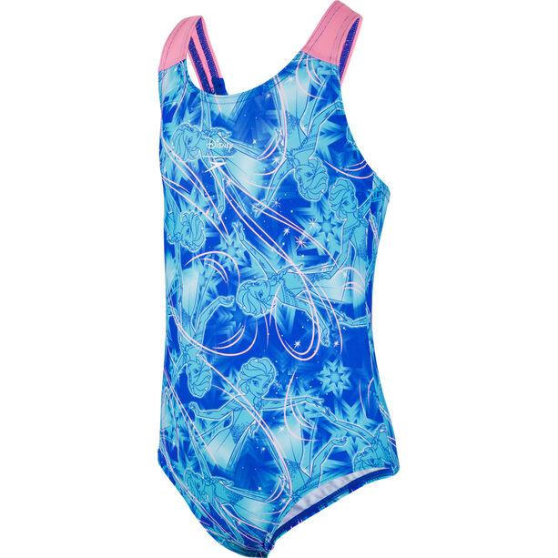 speedo Disney Frozen Allover Swimsuit Mädchen blue/blue