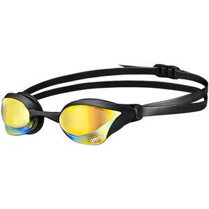 arena Cobra Core Mirror Goggles yellow revo-black yellow revo-black