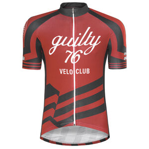 guilty 76 racing Velo Club Pro Race Jersey Men red bei fahrrad.de Online