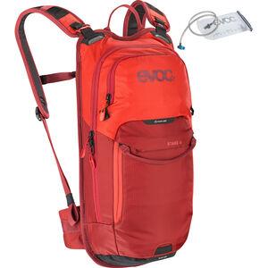 EVOC Stage Backpack 6l + Bladder 2l Orange/Chili Red bei fahrrad.de Online