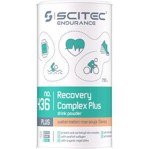 SCITEC Recovery Complex Plus Getränkepulver 750g Maracuja-Melone