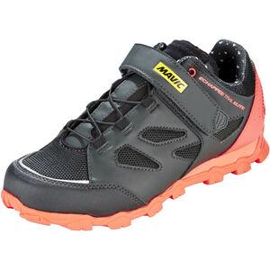 Mavic Echappée Trail Elite Shoes Women Pirate Black/Fiery Coral/Black bei fahrrad.de Online