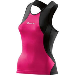 Skins TRI400 Racer Back Tri Top Damen black/pink black/pink