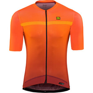 Alé Cycling PRS Fade SS Jersey Herren bordeaux-flou orange bordeaux-flou orange