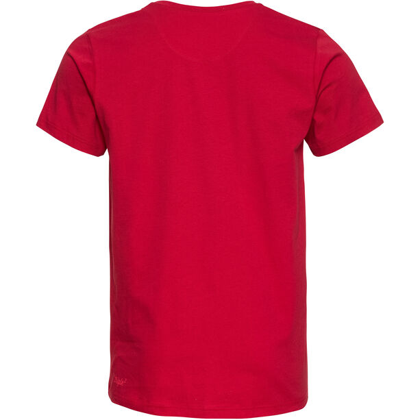 Triple2 Tuur Organic Cotton Kurzarm Trikot Herren beet red/face