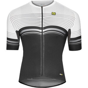 Alé Cycling Graphics PRR Slide SS Jersey Herren black-white black-white