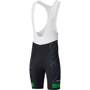 Shimano Team Bib Shorts green