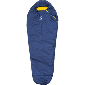 Haglöfs Tarius +6 Sleeping Bag 205cm hurricane blue hurricane blue
