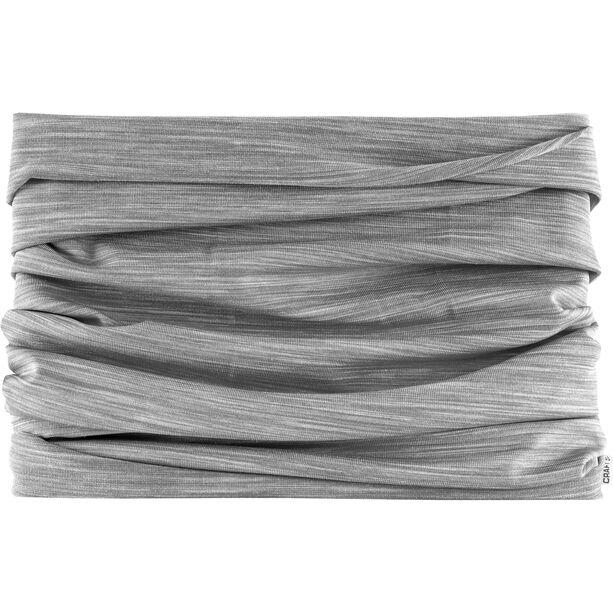 Craft Melange Jersey Schlauchschal grey melange