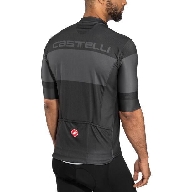 Castelli Ruota FZ Jersey Herren light black