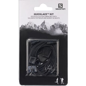 Salomon Quicklace Kit black black