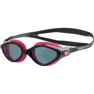 speedo Futura Biofuse Flexiseal Goggles Damen ecstatic pink/black/smoke ecstatic pink/black/smoke