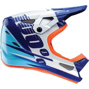 100% Status Helmet Kelton Blue